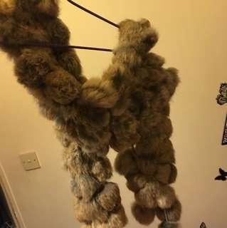 🈹Long Fur SCARF 🧣 真🐰毛