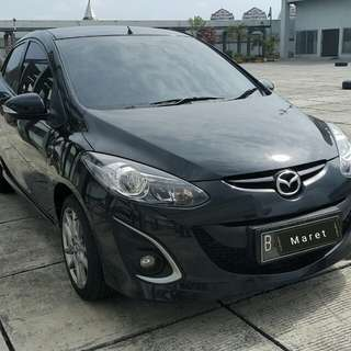 Mazda2 RZ 1.5 at 2014 Hitam metalik