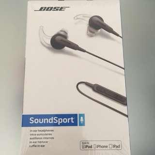 NEW Bose SoundSport In-Ear Headphones