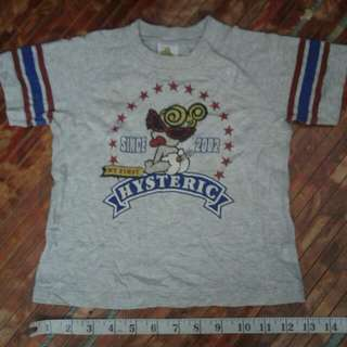 HYSTERIC mini Babies shirts
