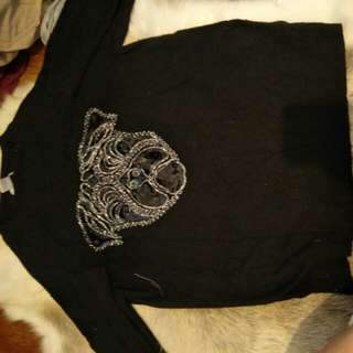 H&M pug sweater
