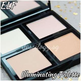 INSTOCK ELF Studio Illuminating Palette / Eyeslipsface / ELF Cosmetics / e.l.f. Cosmetics illuminating Palette