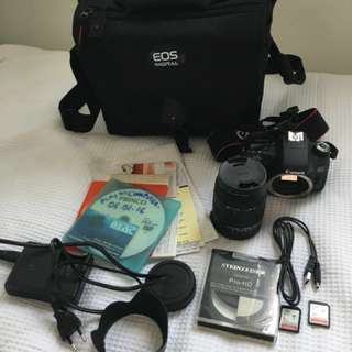 Canon EOS 760D DSLR camera bundle