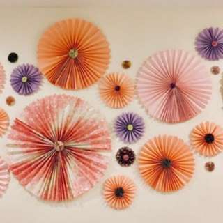 Paper Fan Wall Decoration