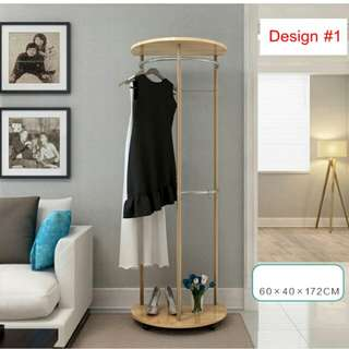 Moveable Clothing Hanger