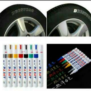🌟New VCN Waterproof Permanent Oil Markers for Car / Motorbikes Tyres🌟