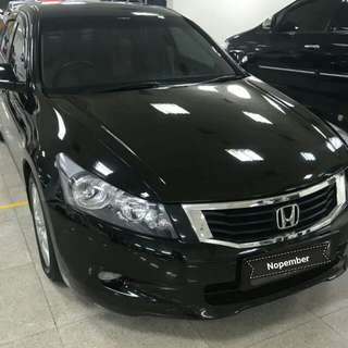 Honda Accord VtiL 2.4 at 2010 hitam metalik