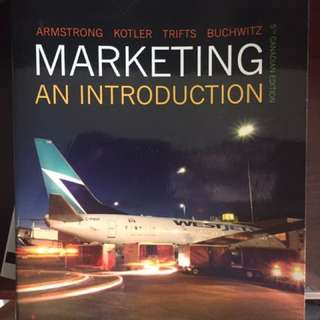 PRICE DROP* Marketing: an introduction