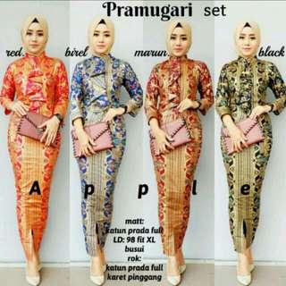 Baju batik real pict