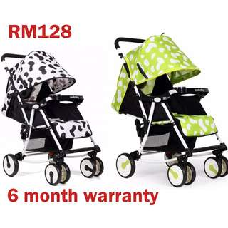 Seebaby Q4 Light Weight Baby Stroller Ultra Comfort Foldable