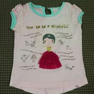 Cute shirt - little girl