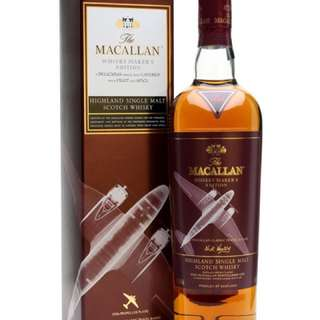 [$180] Macallan Whisky Maker's Edition 70Cl