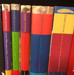 Harry potter books 1-5