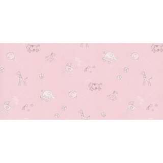 Interior DIY Wallpaper Sticker Dinding Animals Pink