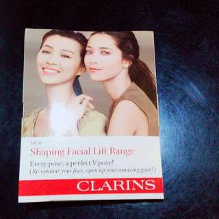 Clarins Shaping Lift range sample Set