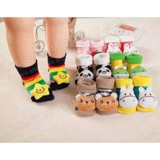 Baby 3D socks