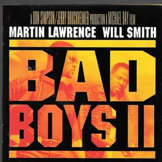 MY CD - BAD BOYS 2 - THE SOUNDTRACK - FREE DELIVERY