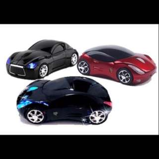 Brand new - Vday - Car model wireless mouse