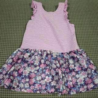 Free ship Cute Floral Dress