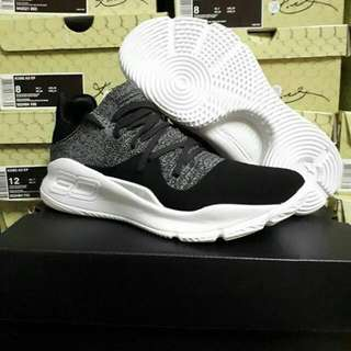 Sepatu Basket Under Armour Curry 4 Oreo Low