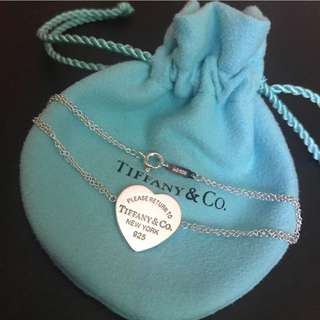 Authentic Tiffany and Co RRT Heart Bracelet
