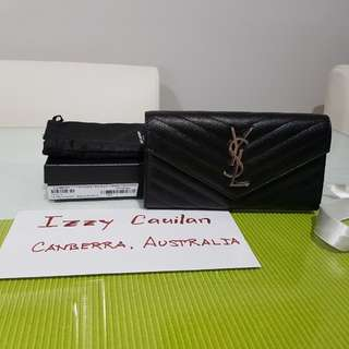 QUICK SALE YSL LARGE LOULOU WALLET