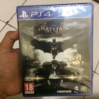BD PS4 Batman Arkham Knight