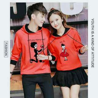 Couple Hooded Sweater