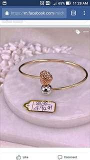 Bracelet in 18K Saudi gold