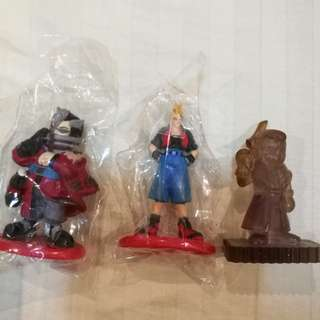 Final fantasy coke figures