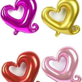 Heart balloon 18inches 12pcs