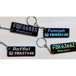 Customize keychain 🛑🛵🚘