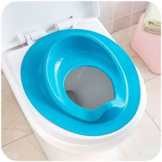 Blue Potty Training Toilet Seat Portable Trainer Chair For Baby Toddler Kids