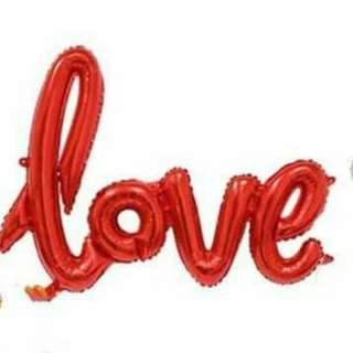 Love balloons 16inches