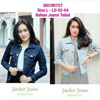 Blue Jaket Denim Jeans
