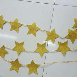 Star banderitas