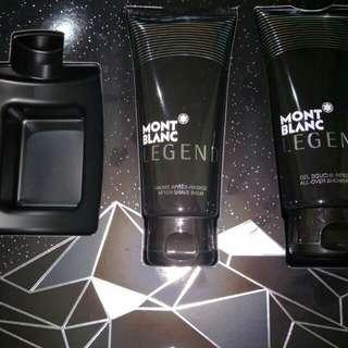 Mont Blanc Legend Shower Gel And After Shave Balm