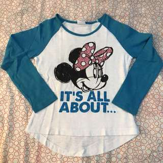 Fox Minnie Mouse Blouse