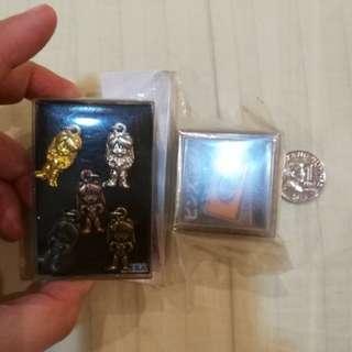 Evangelion anime pins