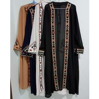 Embroidery cardigan/ outerwear