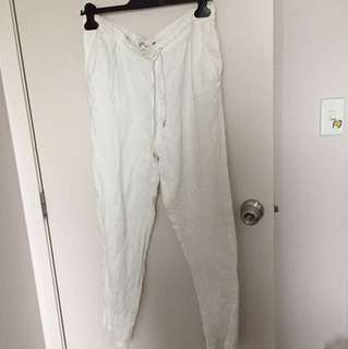 WHITE COTTON PANTS 🔥🔥