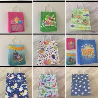 Assorted printing paper bag for celebration 🎉