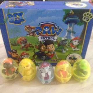 Goody bag - paw patrol surprise egg