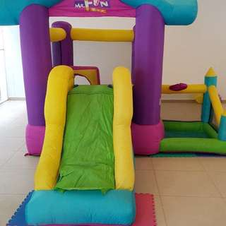 Bouncing Castle for sale with pump bouncy castle