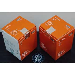 WTS BNOB Sony 35mm f/1.8 OSS E-mount