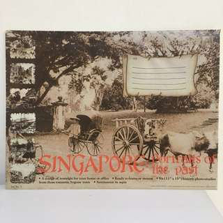 Prints of 'old' Singapore