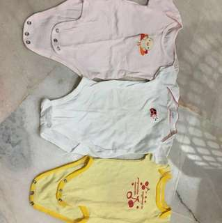 Romper 3 Set 6-9month
