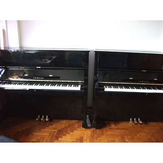 JAPAN Yamaha U1 Exam piano Excellent sound n touch Serial number above 3 million