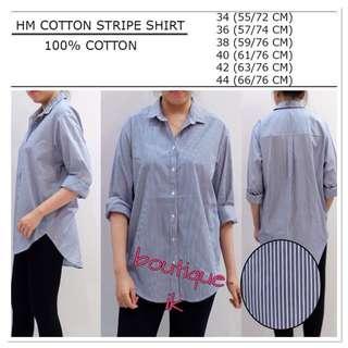 HM cotton stripe