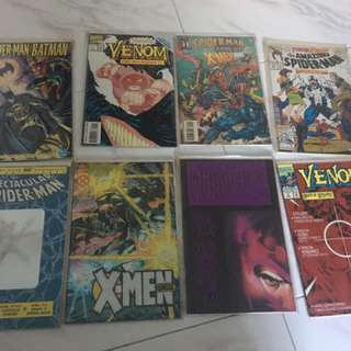Marvel and DC comics clearance